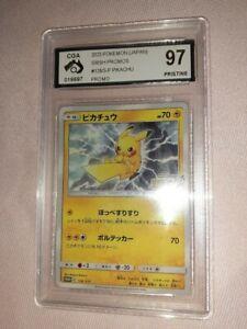 Pokemon Astonishing Volt Tackle Japanese Promo PIKACHU 126/S-P Graded CGA 97 PSA