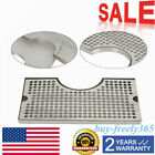 Stainless Steel Kegerator 12'' x 7'' Tower Cutout Draft Beer Drip Tray No Drain