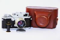 RARE 1954 Zorki-3 Soviet Rangefinder Film Camera copy Leica w/s lens Jupiter-8