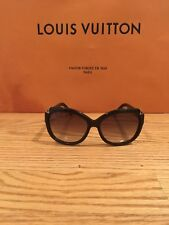 a6e5d6476168 Louis Vuitton Hortensia Glitter Brown Womens Sunglasses Authentic Z0486w