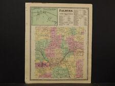 New York, Wayne County Map, 1874, Palmyra, Y4#66