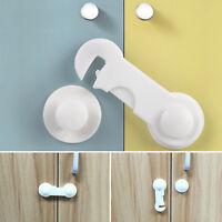 10 x Child Baby Safety Locks Cupboard Cabinet Proofing Door Drawer Fridge Kids