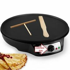 J-JATI Electronic crepe maker with 2 utensil wooden flipper SW603P FAST SHIPPING