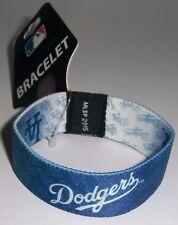 Los Angeles Dodgers Stretch Bracelet MLB Licensed Baseball