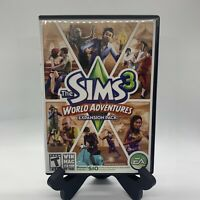 The Sims 3: World Adventures PC Mac Complete CIB Tested EA Games Expansion Pack