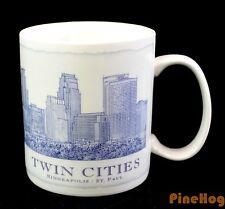 STARBUCKS Twin Cities Minneapolis / St. Paul City 2008 18 fl oz. Coffee Cup Mug