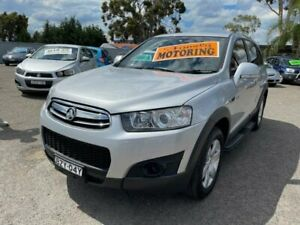 2011 Holden Captiva CG Series II 7 SX (FWD) Silver Automatic 6sp A Wagon