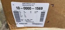 ABB Baldor-Reliance Motor 10-0000-1569 15HP 1180RPM 3PH 60HZ 284T 1054M TEFC F1