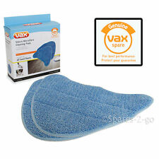 VAX S7 S7-A S7-A+ Steam Cleaner Mop Pads Cleaning Pad Genuine Covers x 2