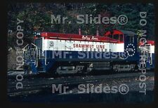 Original Slide P&S Pittsburg & Shawmut Bicentennial 'Betsy Ross' SW9 1776 In1979