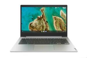 """Lenovo Ideapad 3 14"""" Chromebook N4020 4GB 32GB eMMC Platinum Grey"""