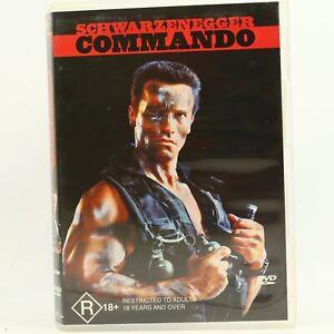 Commando Arnold Schwarzenegger DVD GC Free Tracked Post Free Track Post