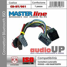 CONNETTORE ISO INTERFACCIA BLUETOOTH PER DODGE NITRO FINO AL 2008.