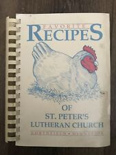 Vintage St. Peter's Lutheran Church Northfield Minnesota Cookbook Recipes Rare