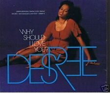 DESREE WHY SHOULD I LOVE YOU? LTD EDITION CD SINGLE STILL SEALED FROM NEW 1992