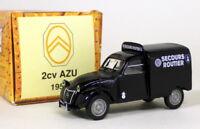 Norev 1/43 Scale - Citroen 2CV AZU 1954 Secours Routier Diecast model car