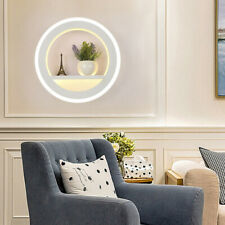 18W Led Wall Mount Lights Decorative Fixture Acrylic Wall Lamp W/ Flower Stand