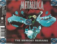 METALLICA THE MEMORY REMAINS uk CD MAXI part 1