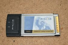 PROXIM ORiNOCO 11 a/b/g Client Combo Card GOLD 8480-FC Wireless Laptop Network