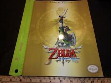 The Legend of Zelda Skyward Sword Premiere Edition Strategy Guide No Poster