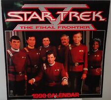 Star Trek V The Final Frontier (TOS) 1990 Calendar (Pre-owned) Vintage