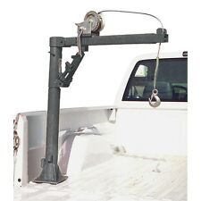 Pickup Truck Crane w Cable Winch 1/2 Ton - 1000 Lb Cap Free Fedex To Lower 48 St