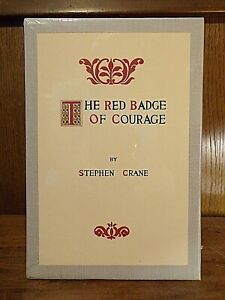 Stephen Crane ~ The Red Badge of Courage ~ First Editions Library ~ Sealed