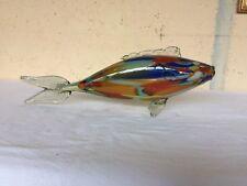 scultura vetro MURANO carpa lavorazione artistica anni 60 soprammobile vintage