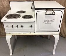 Antique Electric 1920s Hot Point Automatic Stove Oven RA46 Porcelain **WE SHIP**