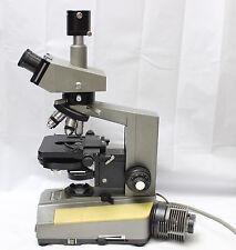 Olympus Bh Trinocular Microscope Dic Nomarski Phase Contrast 10x 40x 100x