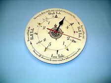 MEGA-QUARTZ  tide only wall clock