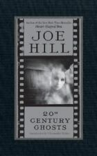20th Century Ghost by Joe Hill (2007, Hardcover) signed!