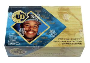 1997 Upper Deck Baseball UD3 Premiere Edition Hobby Box Sealed (24 Packs)