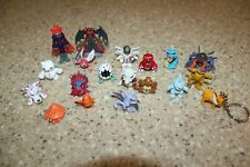 "19 Digimon Mini Figures 1"" 2"" Bandai Monster"