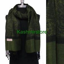 NEW Women Soft PASHMINA Paisley Floral Silk Wool Scarf Wrap Shawl Classic Warm