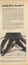 1962 Head PRINT AD Vintage Snow Ski Ad Child's Play?