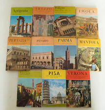 Lotto GUIDE ARTISTICHE ILLUSTRATE,Moneta[Agrigento,Arezzo,Foligno,Imola,Verona