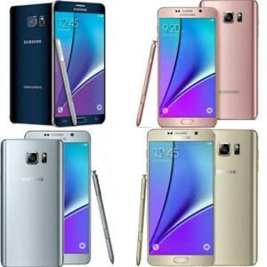 Samsung Galaxy Note 5 64GB  SM-N920A  Damaged ( SEE DETAILS) - NO RETURNS