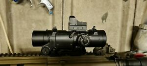 Elcan Spectre DR Style 1-4x Sight With Rmr Red Dot Sight