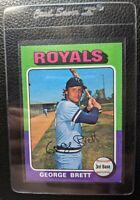 1975 TOPPS 228 GEORGE BRETT ROOKIE CARD RC KANSAS CITY ROYALS HOF