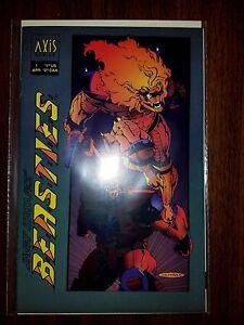 AXIS COMICS: B.E.A.S.T.I.E.S (BEASTIES)  #1 NM 1995 - #1