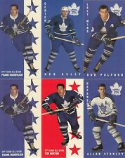 1964-65 PARKIES REPRINTS TORONTO MAPLE LEAFS lot of 30 DIFFERENTS CARD near mint
