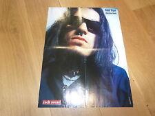 ROBERT FLYNN : MACHINE HEAD - Poster !!! Au verso : HELMET !!!