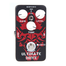 JOYO JF-02 Ultimate Drive Overdrive chitarra effetto pedale portatile L2Y8