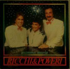 Ricchi e Poveri Mamma Maria Lp Vinyl 33 Giri Rarissimo