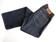 Tellason Herren Jeans 32X34 North Denim Dark Limited ACL Slim Straight Button