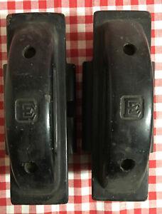 Pair Of Vintage EE Fuse Holder / Carrier