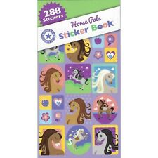 HORSE PALS STICKER BOOK FAVOURS 12 SHEETS 288 STICKERS PONY PONIES PARTY