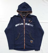 New   Savage Gear Blue Lightweight Hooded Inner Fleece (Medium) d38e248823