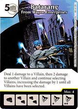 Batarang From Wayne Enterprises #107 - Justice League - DC Dice Masters